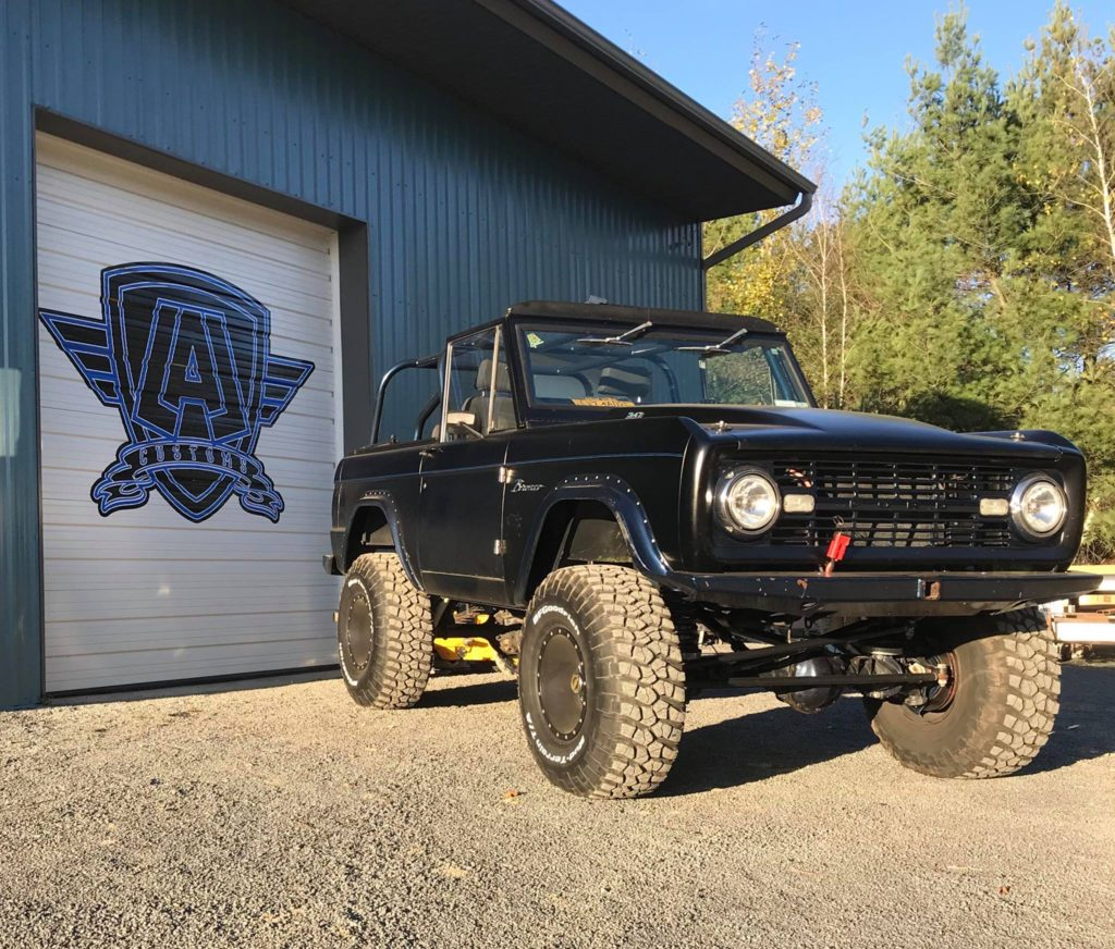 LAL-Customs Bronco Steel Body