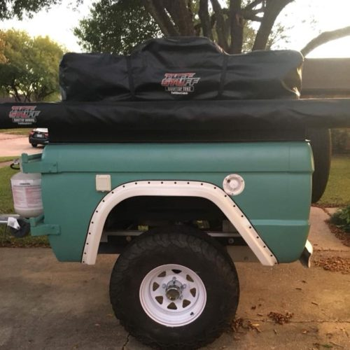 LAL Customs Comnpnion Bronco Trailer Camper top