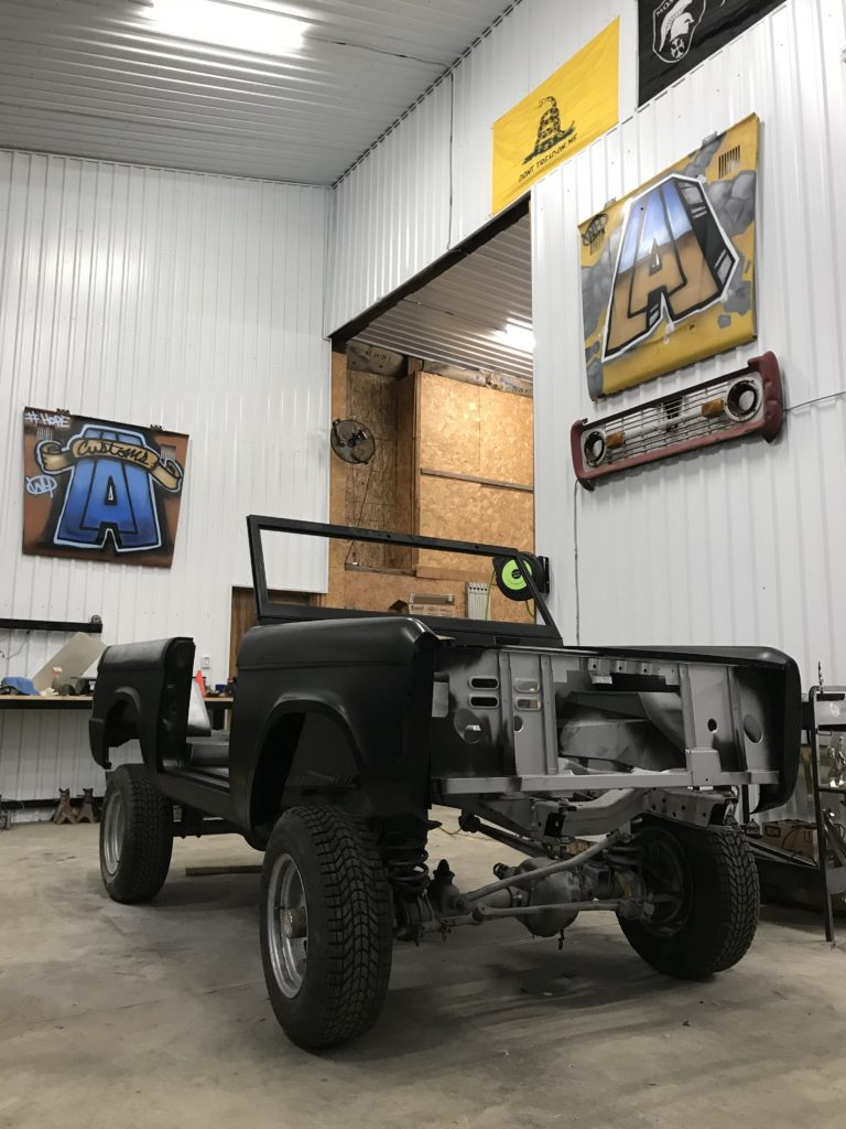 LAL Customs - Ford Bronco Steel Body, Early Ford Bronco restoration