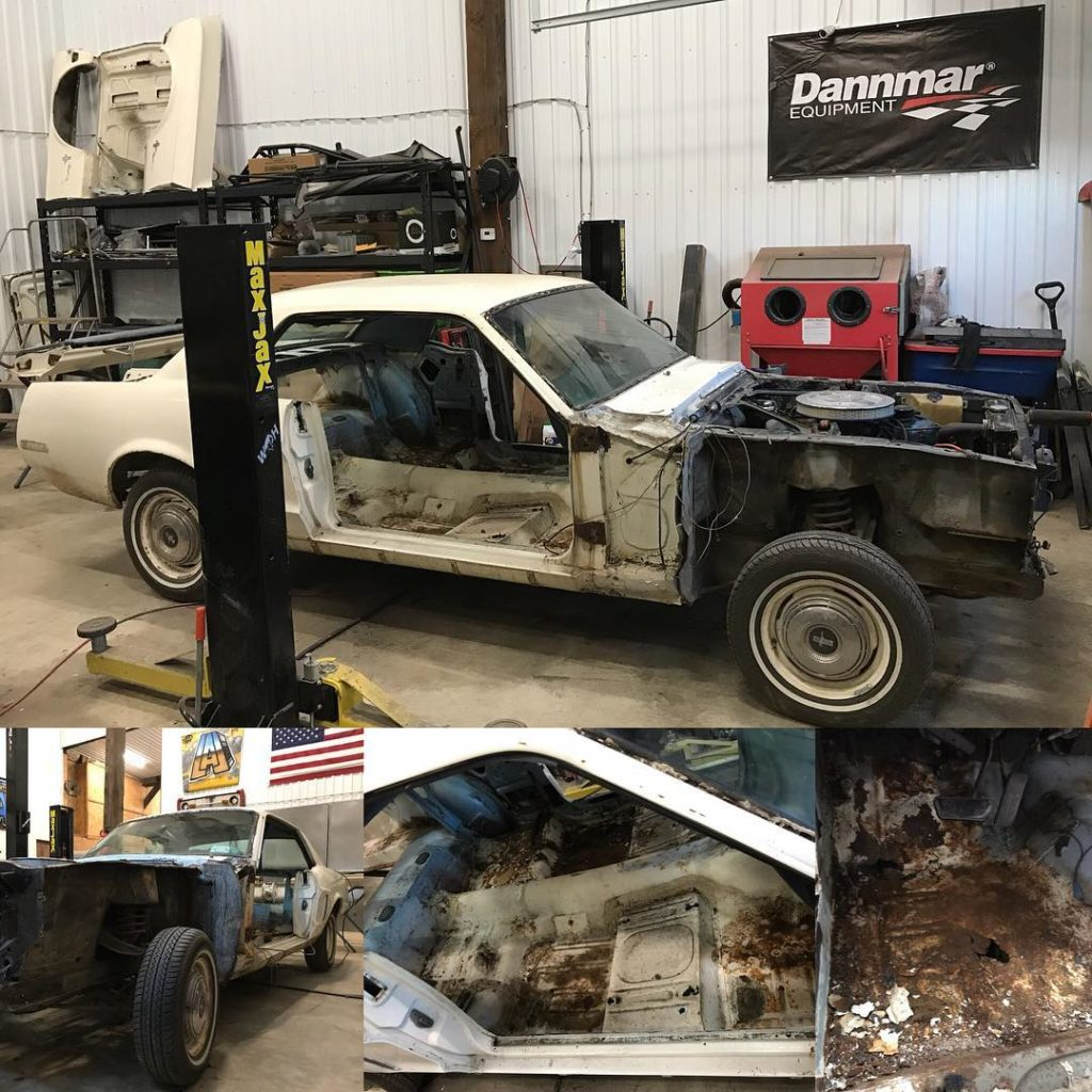 LAL Customs Mustang Restoration