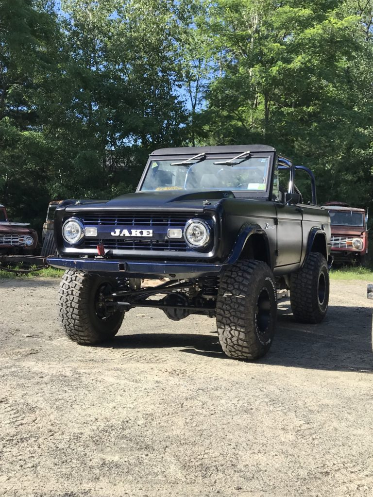 LAL Custom Bronco Grille 01