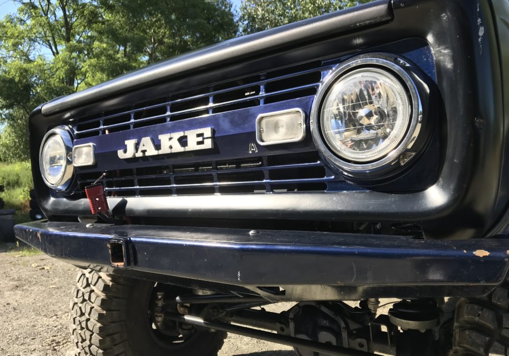 Custom '66-'77 Ford Bronco Grilles