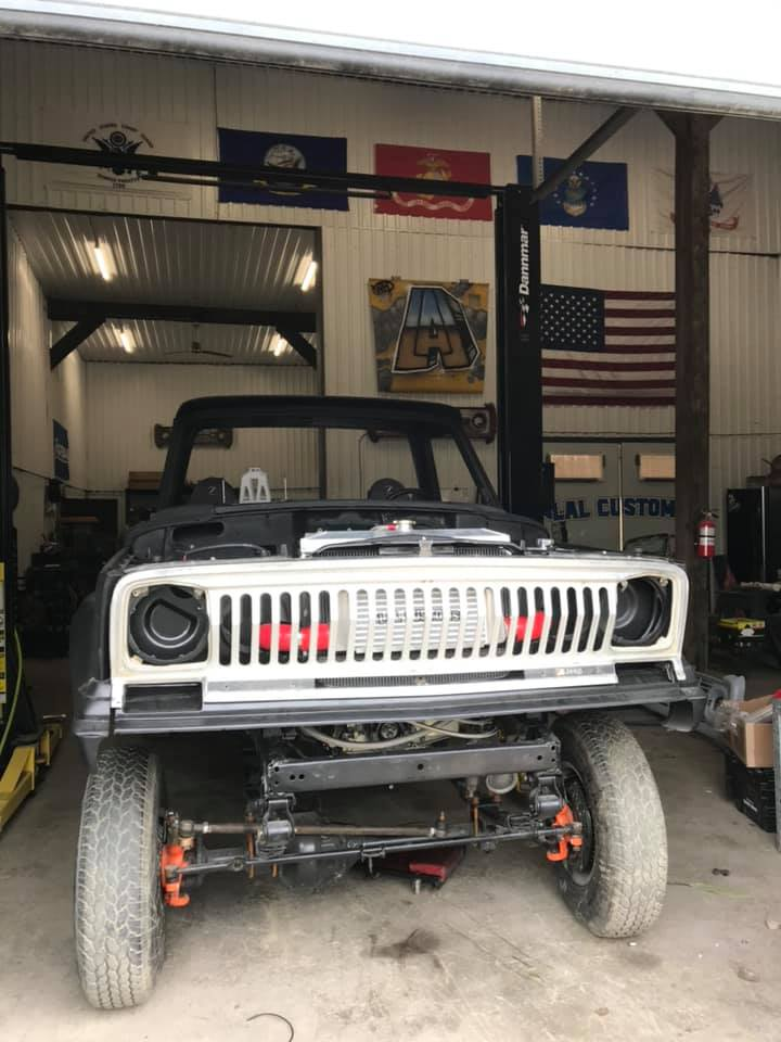 Jeep J20 Restoration by LAL Customs in Nassau NY