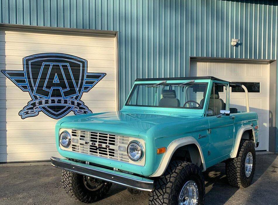 LAL Customs - Ozzie - Ford Bronco Restoration