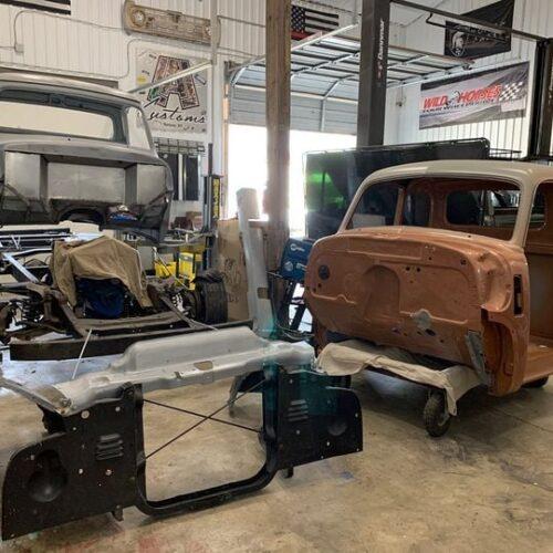 Ole-Blue-1953-FordF100-Crown-Vic-Front-End-Swap-LALCustoms-12