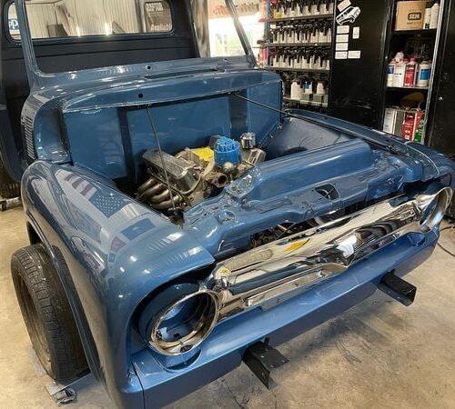 Ole-Blue-1953-FordF100-Crown-Vic-Front-End-Swap-LALCustoms-25