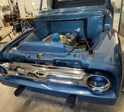 Ole-Blue-1953-FordF100-Crown-Vic-Front-End-Swap-LALCustoms-27